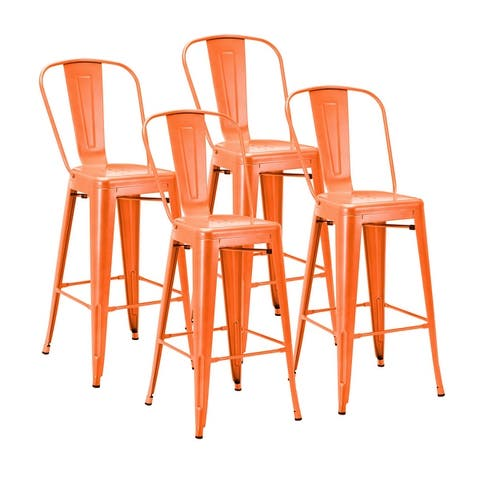 Carbon Loft Tama Metal Bar Stools (Set of 4)