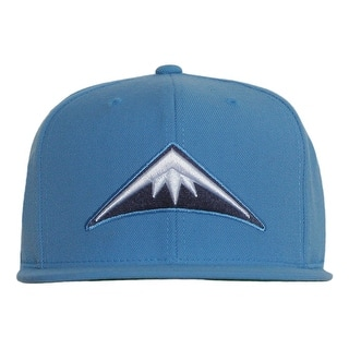 9acb237268514 Denver Nuggets Mountain Mitchell   Ness Powder Blue Snapback Cap