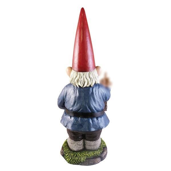 Funny Go Away Garden Gnome