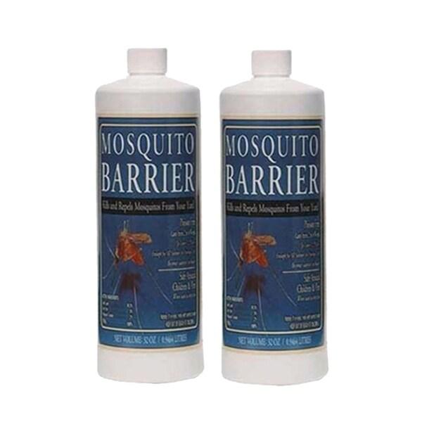 Mosquito Barrier 2001 Liquid Spray Repellent (1-Quart) - 2 Pack