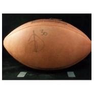 Signed Davis Terrell Official NFL Football Light Signature autographed