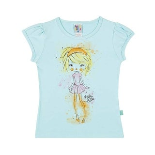 Girls Shirt Kids Top Graphic Tee Pulla Bulla Sizes 2-10 Years
