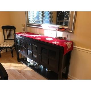 Furniture of America Wins Modern Farmhouse Buffet Table
