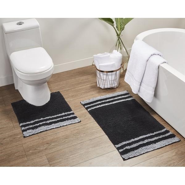 Bedford 2-Piece Cotton Bath Rug and Contour Set