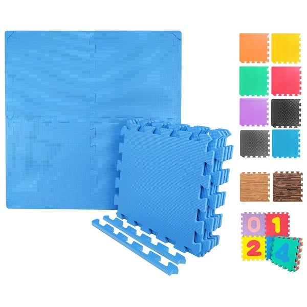 "Wacces Multi-Purpose Floor Interlocking Foam Mat Tiles ( 12""x12"" )"