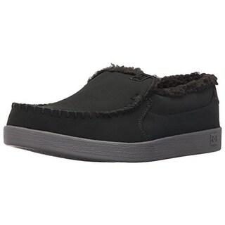 DC Mens Villain WNT Skateboarding Shoes Leather Faux Fur Lined