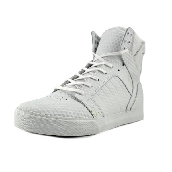 Supra Skytop Men Round Toe Leather Skate Shoe