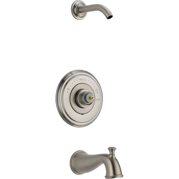 Delta T14497-LHP-LHD Cassidy Monitor 14 Series Single Function Pressure Balanced Tub and Shower Trim Package - Shower Head,