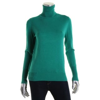 Zara Knit Womens Ribbed Trim Long Sleeves Pullover Sweater