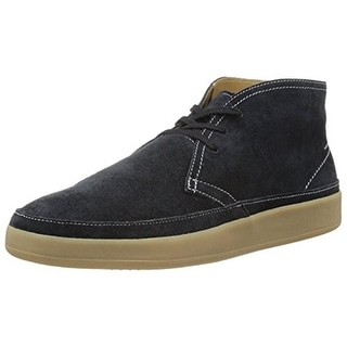 Cole Haan Mens Ridley Chukka Boots Suede Lace Up