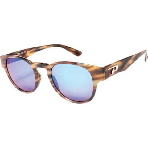 2bb6a72536 Peppers Women s Montreux Sunglasses Brushed Tortoise Brown Polarized Ocean  Blue Mirror - US Women s