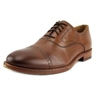 Warfield & Grand Newport Cap Toe Leather Oxford