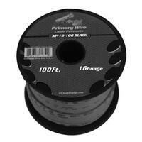 Audiopipe 16 gauge 100ft Black primary wire