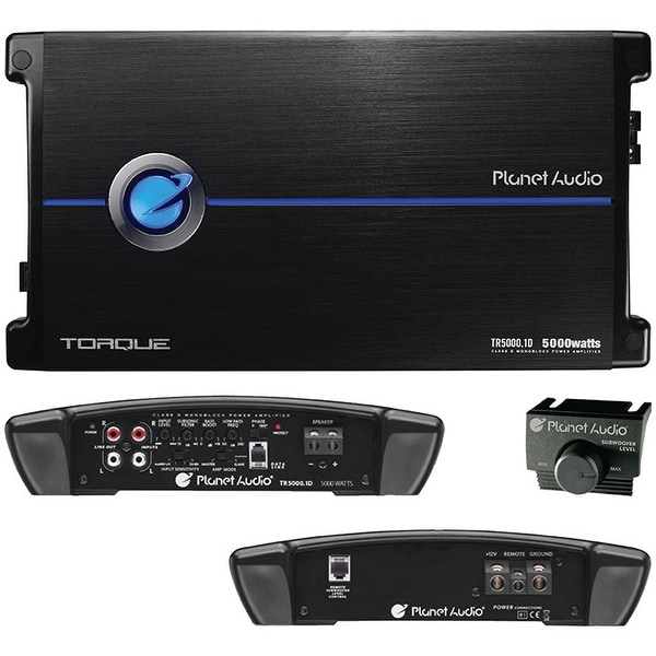 Planet 5000 Watts Max Power Class D Monoblock Power Amplifier 1-Ohm Stable