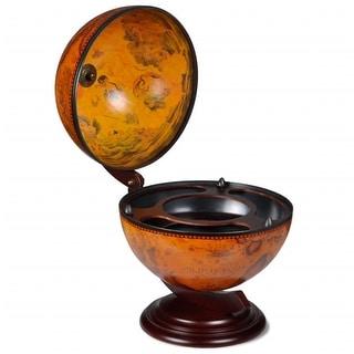 Link to vidaXL Tabletop Globe Bar Wine Stand Eucalyptus Wood Similar Items in Decorative Accessories