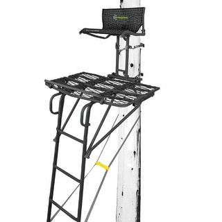 Hawk Treestands Hawk 18 Radar 1-Man Ladder Stand'