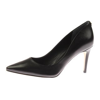 Guess Womens Bennie3 Leather Pointed Toe Pumps