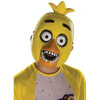 Five Nights At Freddy's Child Half Mask: Chica - Yellow