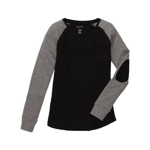 Women's Preppy Patch Slub T-Shirt Plus Sizes