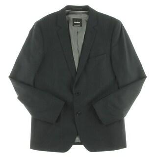 Strellson Mens Two-Button Blazer Virgin Wool Casual - 40r