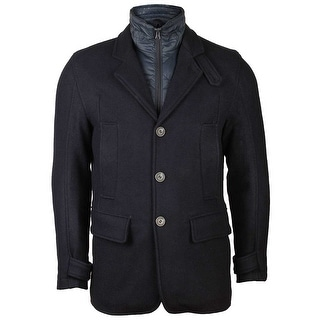 Marc New York Mens Albany Coat in Ink