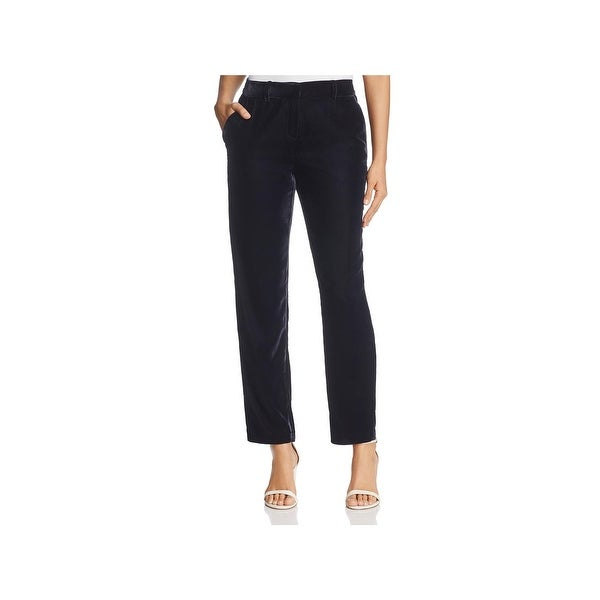 57b073dfcbc Shop Elie Tahari Womens Alanis Pants Velvet Casual - Free Shipping ...