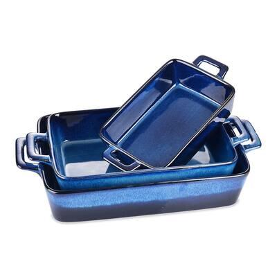 vancasso Glimmer Glaze Stoneware Oven Dish ,Set of 3