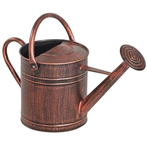 Panacea 84872 Copper Watering Can, 2 Gallon, Metal