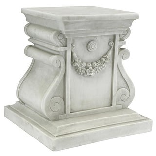 Design Toscano Classic Statuary Plinth Base: Medium