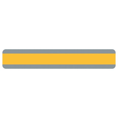 "Double Wide Sentence Strip Reading Guide, 1.25"" x 7.25"", Goldenrod - One Size"