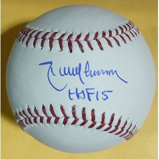 Randy Johnson Autographed Arizona Diamondbacks OML Baseball HOF JSA