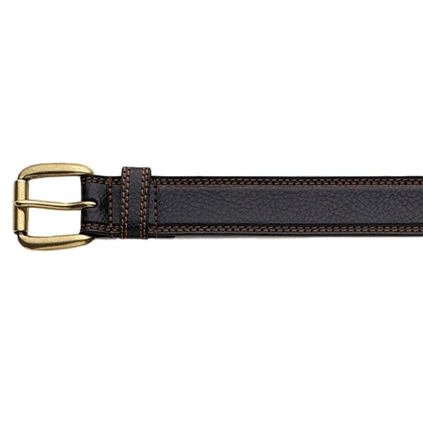 "Nocona Western Belt Mens Leather 1.5"" Basic Dark Chocolate"