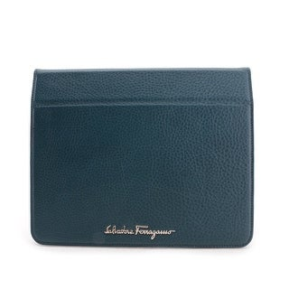 Salvatore Ferragamo Ginny Leather Tablet Case