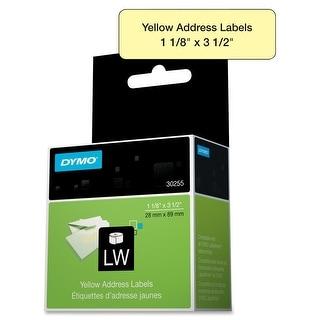 "Dymo - Yellow Address Labels, 1 1/ 8"""
