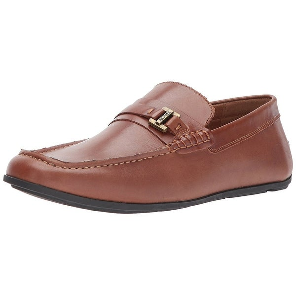 Tommy Hilfiger Mens Wiltons Leather Closed Toe Slip On Shoes