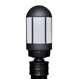 Costaluz 3151-POST-FR 1 Light Incandescent Post Light with Frosted Glass Shade
