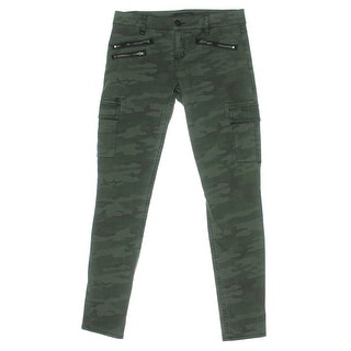 Sanctuary Womens Twill Camouflage Cargo Pants - 32