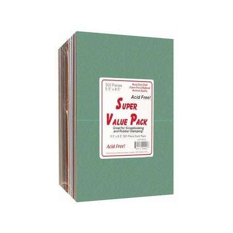 Super Value Variety Pack 5.5x8.5 300pc Card Pack