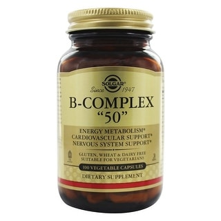 "Solgar B-Complex ""50"" Vegetable Capsules 100"
