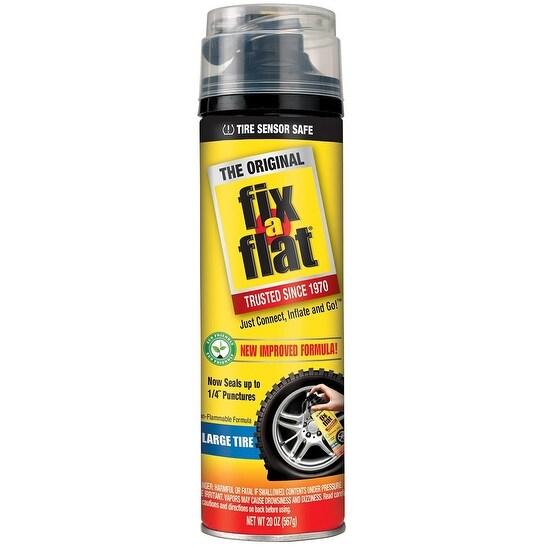 Fix-a-Flat S60430 Aerosol Tire Inflator with Eco-friendly Formula, 20 Oz
