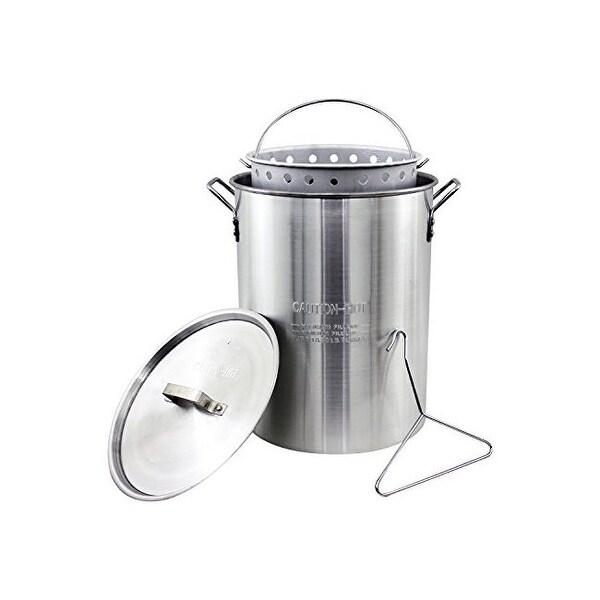 The metal ware corp asp30 chard alum pot basket 30qt