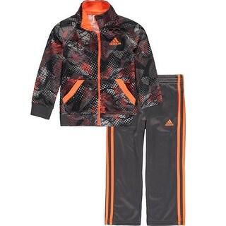 Adidas Little Boys 4-7X Digital Fusion Tricot Set