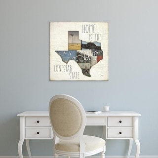 Easy Art Prints Jess Aiken's 'InstaState III Square' Premium Canvas Art