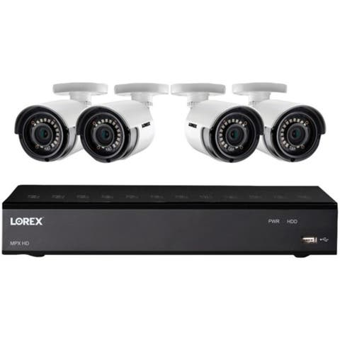 Lorex 8-Channel 1 TB DVR with Four 1080p HD Bullet Camera