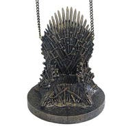 """Game of Thrones 4.25"""" Resin Throne Holiday Ornament"""