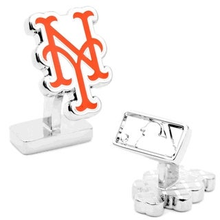 Palladium New York Mets Cufflinks - Orange