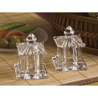 Godinger 4335 Pagoda Salt and Pepper Set