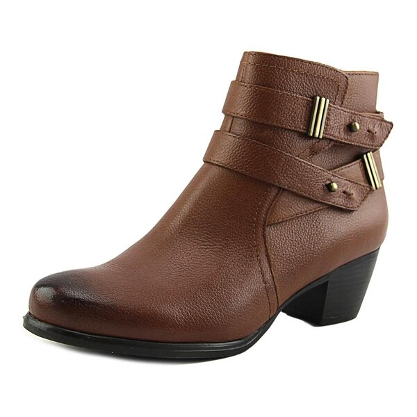 Naturalizer Kepler Round Toe Leather Bootie