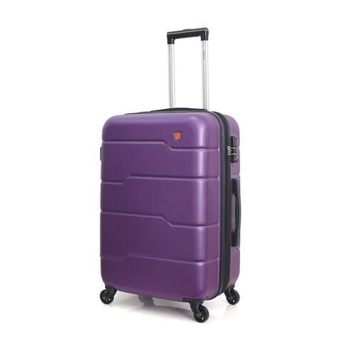 DUKAP Rodez Lightweight Hardside Spinner 20'' inch carry-on Purple