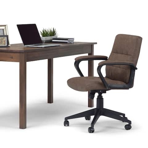 WYNDENHALL Douglas Swivel Adjustable Executive Computer Office Chair